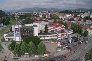 Náhledový obrázek webkamery Banská Bystrica - Námestie slobody