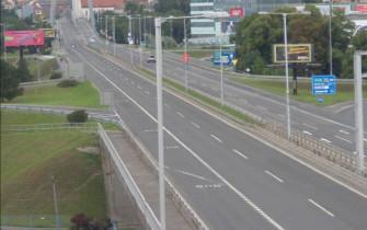 Náhledový obrázek webkamery Bratislava - smer most SNP