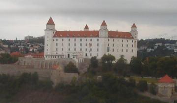 Náhledový obrázek webkamery Bratislava - Hrad