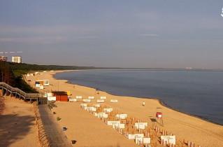 Náhledový obrázek webkamery Mezizdroje - pláž