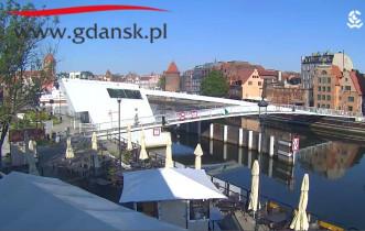 Náhledový obrázek webkamery Gdaňsk - Motlawa