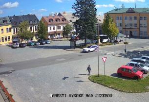 Náhledový obrázek webkamery Vysoké nad Jizerou