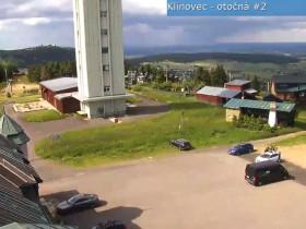 Náhledový obrázek webkamery Klínovec rozhledna