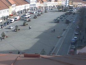 Náhledový obrázek webkamery Třebíč - Karlovo náměstí