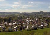 Náhledový obrázek webkamery Rožnov pod Radhoštěm - panorama