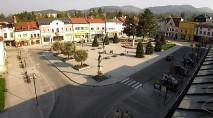 Náhledový obrázek webkamery Rožnov pod Radhoštěm - náměstí