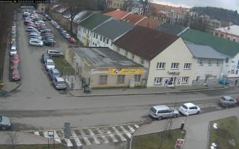 Náhledový obrázek webkamery Příbram - Nemocnice