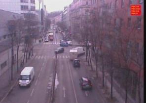 Náhledový obrázek webkamery Praha ulice Radlická k Plzeňské