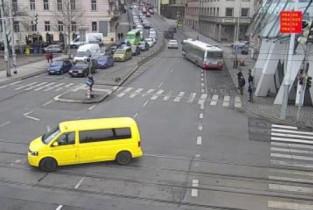 Náhledový obrázek webkamery Praha - Jiráskův most