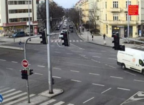 Náhledový obrázek webkamery Praha - Korunovační