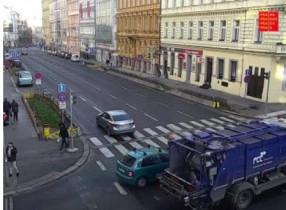 Náhledový obrázek webkamery Praha - Legerova - Rumunská