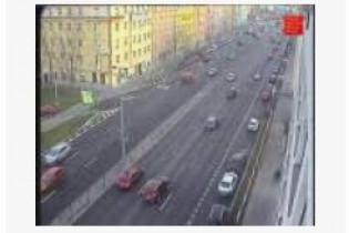 Náhledový obrázek webkamery Praha, TSK Radlická k rampě D