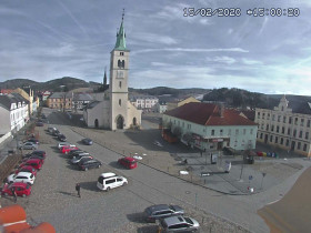 Náhledový obrázek webkamery Kašperské hory - náměstí