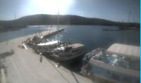 Náhledový obrázek webkamery Cres - přístav z moře