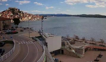 Náhledový obrázek webkamery Šibenik - pláž Banj