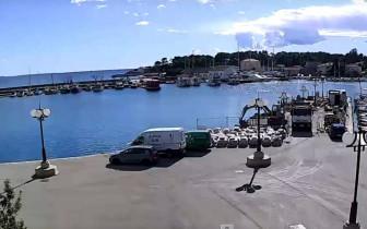 Náhledový obrázek webkamery Krk - Marina