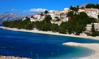 Náhledový obrázek webkamery Baška Voda - pláž Podluka