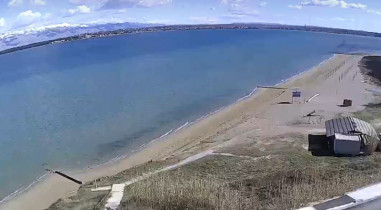 Náhledový obrázek webkamery Nin - pláž
