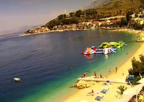Náhledový obrázek webkamery Podgora - pláž