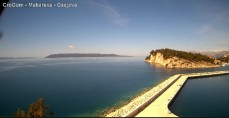 Náhledový obrázek webkamery Makarska - Osejava