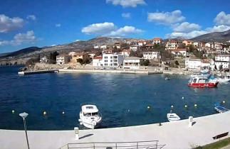 Náhledový obrázek webkamery Klenovica - Marina