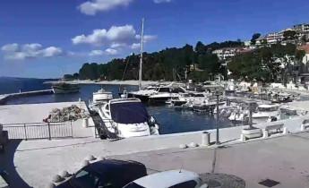 Náhledový obrázek webkamery Brela - přístav
