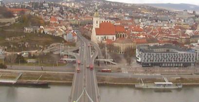 Náhledový obrázek webkamery Bratislava - most SNP