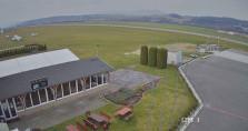Náhledový obrázek webkamery Prievidza - letiště