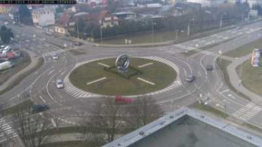 Náhledový obrázek webkamery Michalovce - kruhový objezd