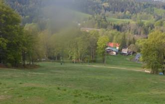 Náhledový obrázek webkamery Janov nad Nisou - Ski areál Severák