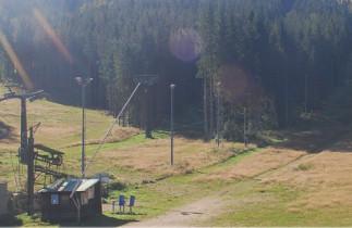 Náhledový obrázek webkamery Albrechtice v Jizerských horách - Špičák