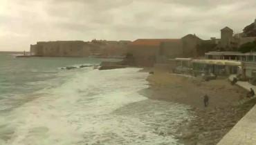 Náhledový obrázek webkamery Dubrovnik - pláž Banje