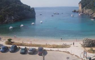 Náhledový obrázek webkamery Korfu - Paleokastritsa