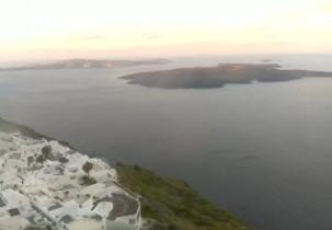 Náhledový obrázek webkamery Santorini - Obec Firostefani
