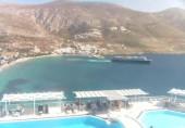 Náhledový obrázek webkamery Pláž Aegialis - Amorgos