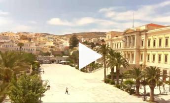 Náhledový obrázek webkamery Ermoupoli - Syros