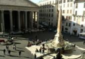 Náhledový obrázek webkamery Řím - Pantheon