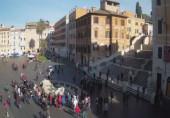Náhledový obrázek webkamery Španělské schody - Řím