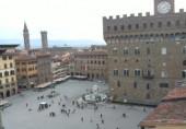 Náhledový obrázek webkamery Florencie - Piazza della Signoria