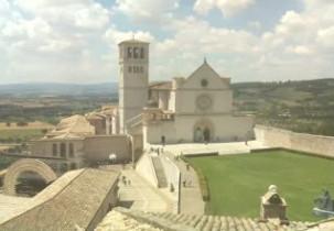 Náhledový obrázek webkamery Basilika sv.Františka z Assisi