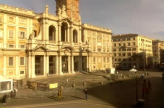 Náhledový obrázek webkamery Basilica Papale Santa Maria Maggiore - Řím