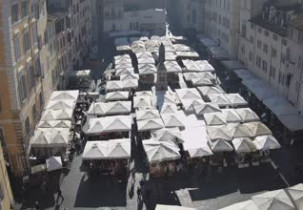 Náhledový obrázek webkamery Campo de 'Fiori - Řím