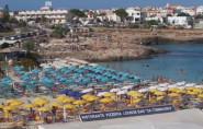 Náhledový obrázek webkamery Lampedusa -  Pláž della Guitgia