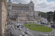 Náhledový obrázek webkamery Piazza Venezia, Památník Viktora Emanuela - Řím