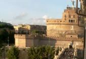 Náhledový obrázek webkamery Andělský hrad - Řím