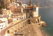 Náhledový obrázek webkamery Atrani - Amalfi pobřeží