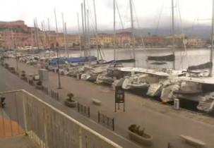 Náhledový obrázek webkamery Darsena Portoferraio - Isola d'Elba