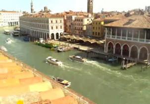 Náhledový obrázek webkamery Benátky - Grand Canal