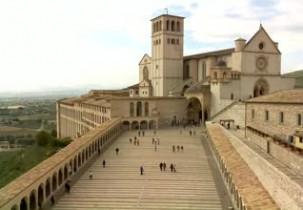 Náhledový obrázek webkamery Bazilika svatého Františka z Assisi