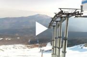 Náhledový obrázek webkamery Abetone - Monte Gomito 1893 m.